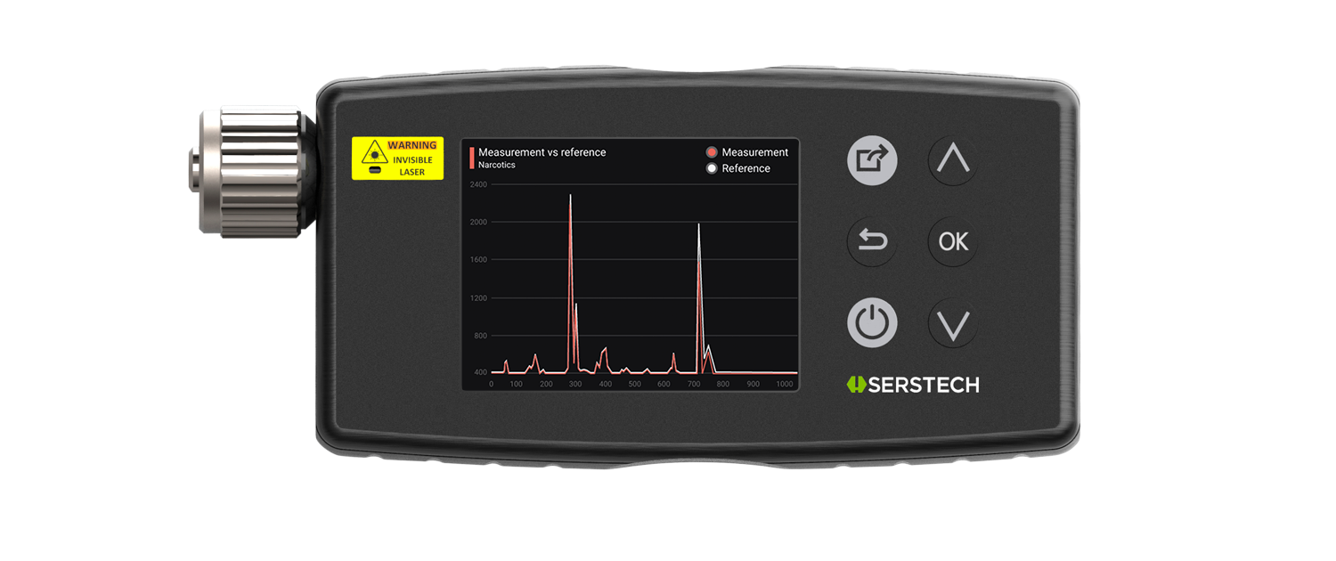 Serstech-Arx-first-chemical-identification-handheld-raman-spectrum